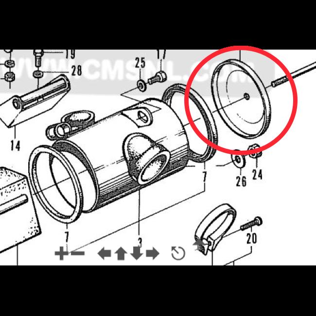 honda ct70 stator wiring diagram honda ct70 flywheel